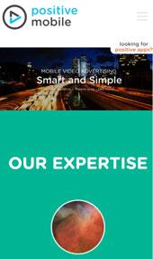כך נראה 'PositiveMobile' במסך סמארטפון